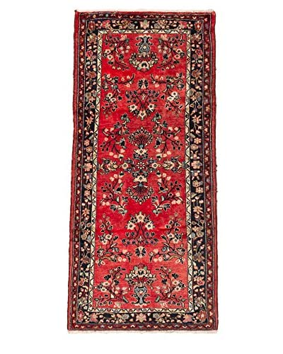 eCarpet Gallery One-of-a-Kind Hand-Knotted Hamadan Rug, Light Red, 3' 5 x 6' 11