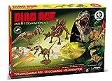 Geoworld - Kit Multiexcavacion Dino Age (DeQUBE Trading S.L. CL468K)