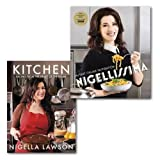 Nigella Lawson Nigella Lawson Cooking Books Collection Set,(Nigellissima Instant Italian Inspiration & Kitchen: Recipes from the Heart of the Home)