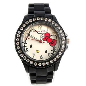 Watch design 'Hello Kitty'black.