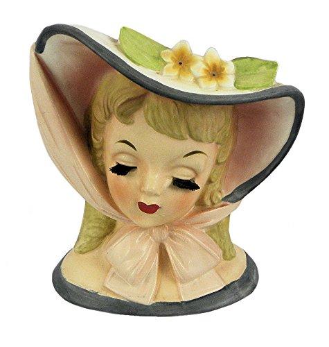 Napco Ceramic Vintage 1959 Lady Head Vase (Napco Head Vase compare prices)