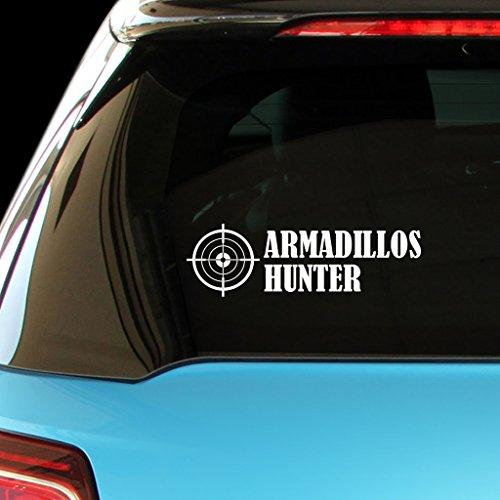 armadillos-hunter-hunters-hunting-car-laptop-wall-sticker