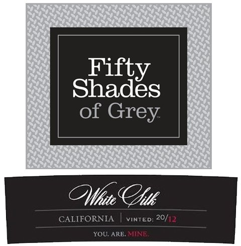 2012 Fifty Shades Of Grey White Silk 750 Ml