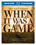 When It Was a Game Comp Collec [Blu-ray]