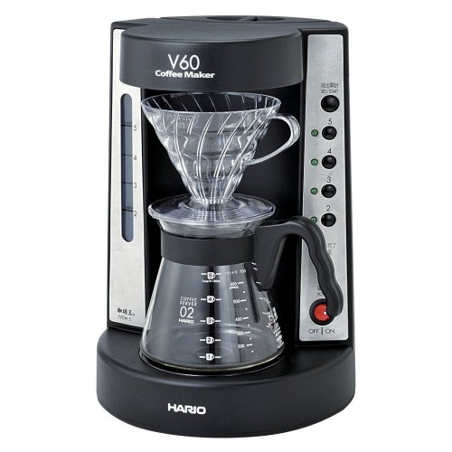 HARIO V60 coffee king coffee maker 2-5 cups of black EVCM-5B