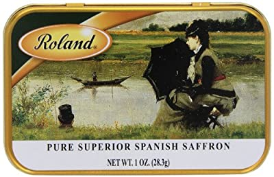Roland Pure Saffron, Spanish, 1 Ounce by Roland