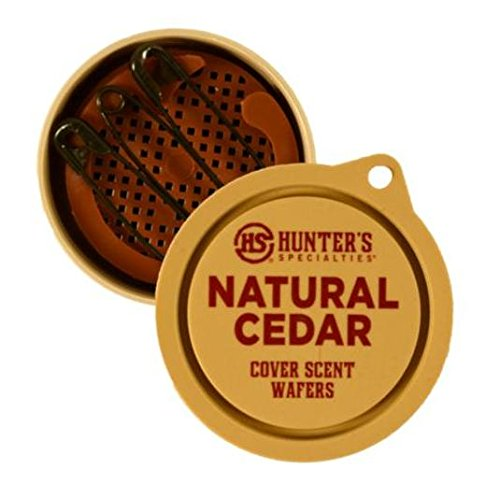 Hunter's Specialties Natural Cedar Cover Scent Wafers (3 Pack)