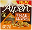 Alpen Chunky Nuts Trail Bar 46g x 3 (Pack of 11, 33 bars in total)