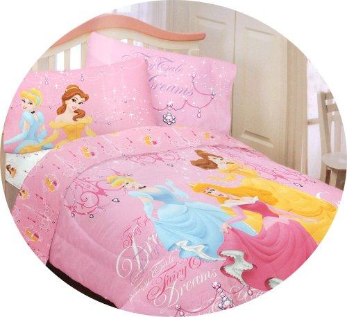 Disney Princess Fairy Tale Dreams Twin Bed Comforter front-93631