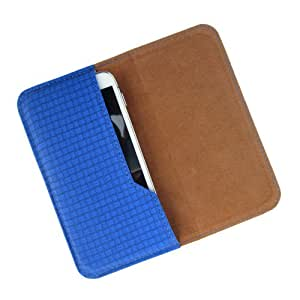 i-KitPit : PU Leather Flip Pouch Case Cover For Blackberry P9981 (BLUE)