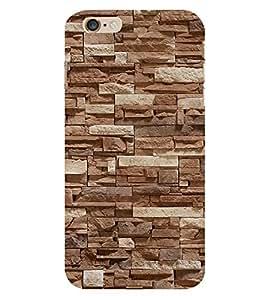 Fantastic Rock Pattern 3D Hard Polycarbonate Designer Back Case Cover for Apple iPhone 6