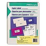 Avery - Pres-A-Ply Copier Labels, 8-1/2 x 11, White, 100/Box 30403 (DMi BX