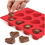 Wilton 2115-0225 Stack-N-Melt Candy Mold, Heart
