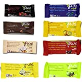Pure Bar Organic 8 Flavor Variety Pack, Raw Fruit & Nut Bars, 1.7-ounce Bars (Pack of 8)