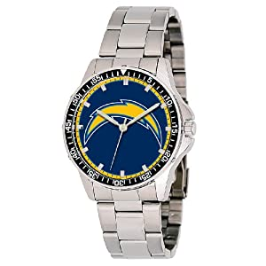 NFL Mens FC-SD San Diego Chargers Coach Series Watch by Game Time