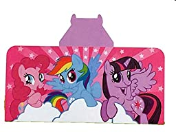 My Little Pony Hooded Towel - Hooded Towels For Girls, 100% Cotton, 24 x 50 in