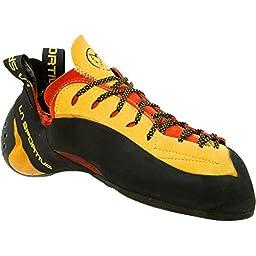 La Sportiva Testarossa Shoe Red / Yellow 37