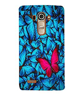 Colourful Butterfly Designer Back Case Cover for LG G4::LG G4 H815