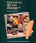 QU'EST-CE QU'ON MANGE T.01 (VERT)