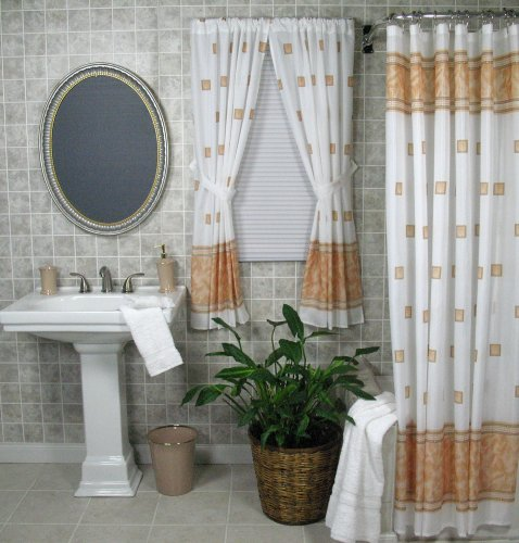 Shower Curtain With Matching Window Curtain Images