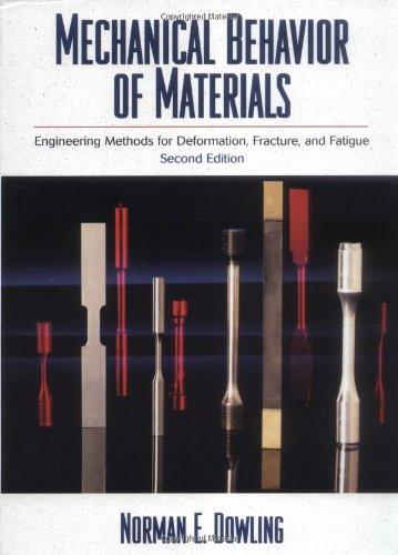 Mechanical Behavior of Materials: Engineering Methods for...