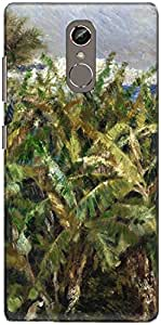 The Racoon Grip Field of Banana Trees hard plastic printed back case/cover for Gionee S6S