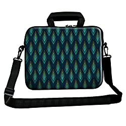 Theskinmantra Peacock patches sling bag for 15.6 inch laptops