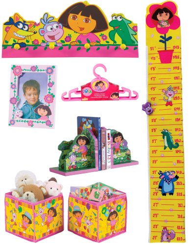 Nickelodeon Dora The Explorer 10 - Piece Room Décor In A Box