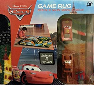 Amazon Com Disney Cars Game Rug Includes Mater And