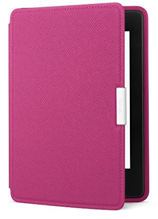 Amazon Kindle Paperwhite Leather Cover, Fuchsia (does not fit Kindle or Kindle Touch)
