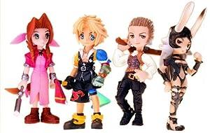 Final Fantasy Trading Arts Vol. 3 Mini PVC Figure 4-Pack Aerith Gainsborough, Tidus, Bathier and Fran