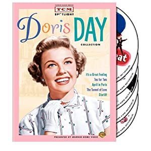 Amazon.com: TCM Spotlight: Doris Day Collection (It's a Great Feeling / Tea for Two / April in Paris / The Tunnel of Love / Starlift): Doris Day, Dennis Morgan, Jack Carson, Gordon MacRae, Ray Bolger, Richard Widmark: Movies & TV