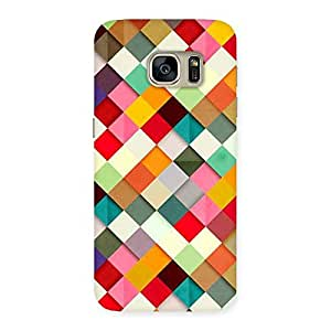 Color Ribbons Back Case Cover for Galaxy S7