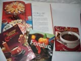 img - for Fondue & Buffet 4 Assorted Cookbooks book / textbook / text book