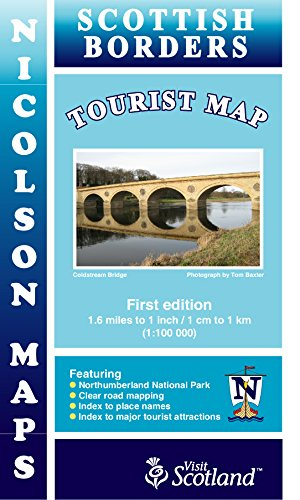 Borders Tourist Map