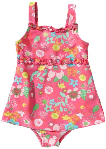 Playshoes Rock Flower Girl's Swimming Costume