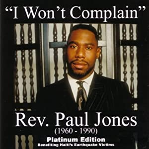 I Won't Complain (Bonus Dvd)