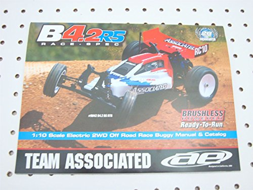 Team Associated RC10 B42 RS RTR Owners Manual Exploded View Parts List 9042