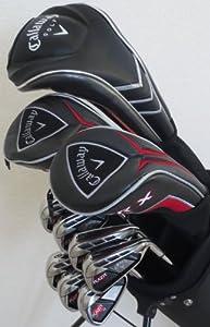 NEW Mens RH Callaway Complete Golf Set Clubs Driver, 3 & 5 Fairway Woods, Hybrid,... by Callaway