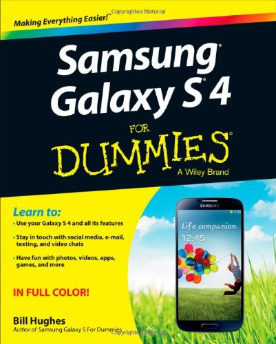 Samsung Galaxy S 4 For Dummies