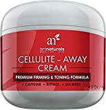 Art Naturals Cellulite Away Treatment Cream - Contains Proven Anti Cellulite Retinol, Caffeine, & Seaweed - Best Body Firming, Tightening & Toning - Erase Dimples from Legs, Arms, Stomach & Buttocks