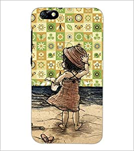 PrintDhaba Cartoon D-4653 Back Case Cover for HUAWEI HONOR 4X (Multi-Coloured)