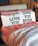 Love You & Love You More Pillowcases:...