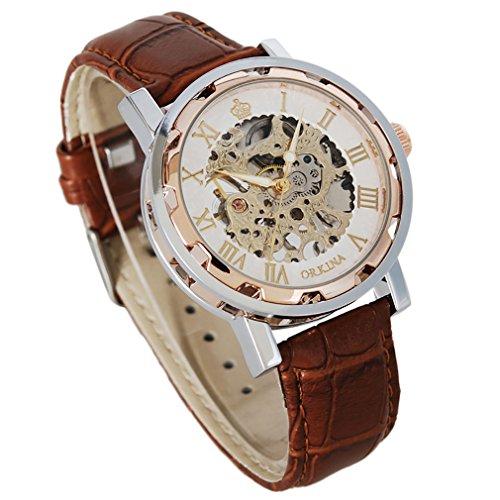 gute-steampunk-bling-skeleton-mechanical-hand-wind-wristwatch-silver-rose-gold-case