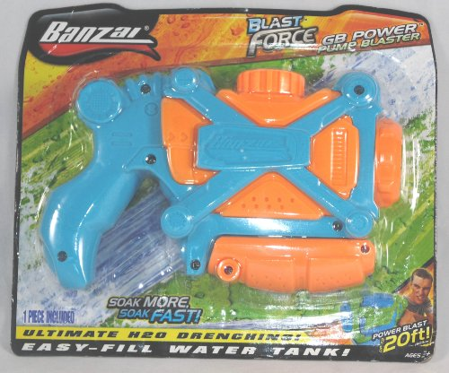Bonzai Blast Force GB Power Pump Blaster Water Gun