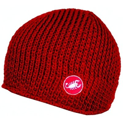 Image of Castelli 2010 Knit Cycling Cap - Red - H7571-023 (B000WM57EU)