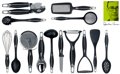 Ethos by Sebastian Conran, Ergo Utensil Set, 14 Piece