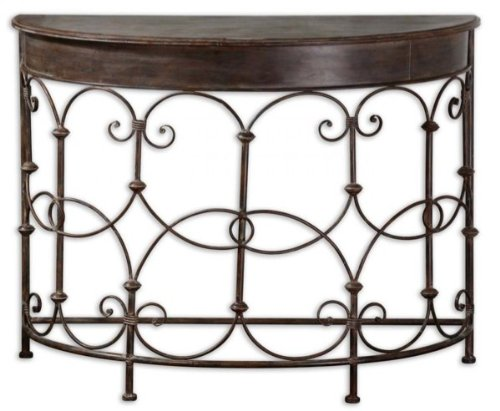 Cheap Hand Forged Metal Console Table (B0050AOSSA)