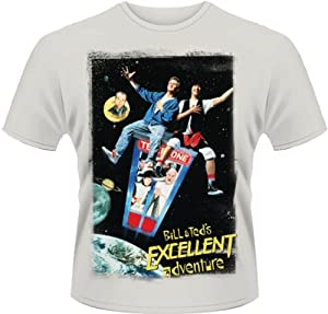 Plastic Head Men's Bill and Ted's Excellent Adventure T-Shirt