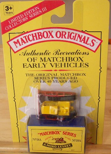 Matchbox Originals Authentic Recreations - No.18A 10TH MODEL
